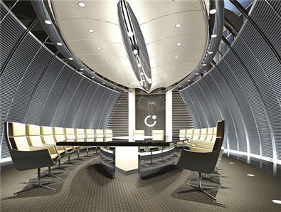 国际金融中心会议室