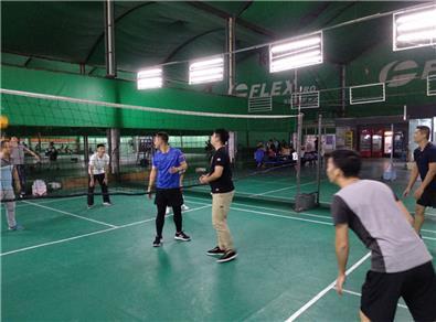 【第四届气排球比赛】疾控项目刻苦训练,力争以最佳状态进行比赛